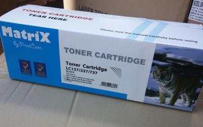 НОВО У ПОНУДИ заменска тонер касета за HP Cf217A и Canon CRG039
